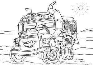 Fritter Cars 3 Disney Coloring Pages Printable