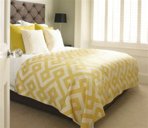 yellow and white comforter beautiful yellow bedding home decorating trends homedit