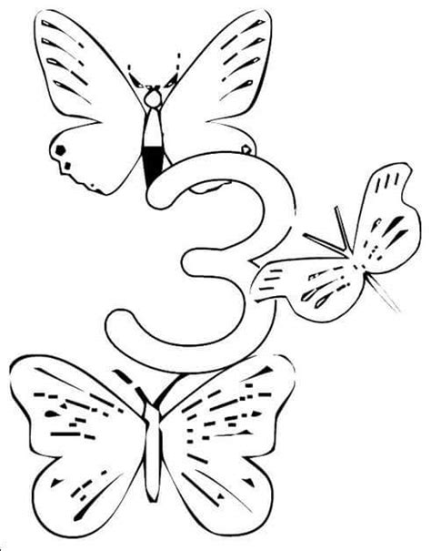 number 3 coloring pages preschool number 3 worksheets for preschool coloring pages 2