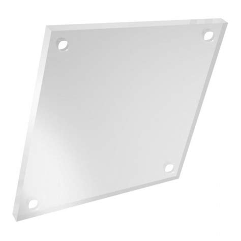 Acrylic Clear 5mm a2 large clear acrylic sheet 5mm with pres drilled holes