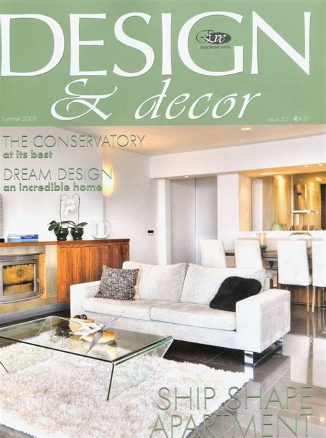 interior design magazines interior design magazine online decobizz com