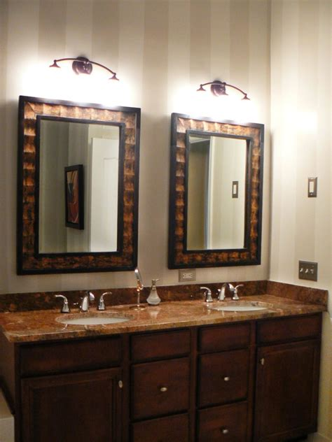framed bathroom mirrors ideas interior framed bathroom vanity mirrors corner sinks for
