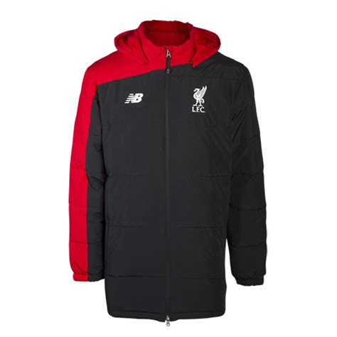 Sweater Lfc Official Team 20162017 liverpool fc travel jacket black sweater