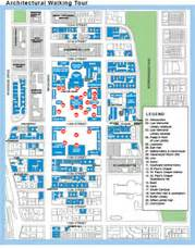 New York City Walking Map by Self Guided Walking Tour Columbia University In The City
