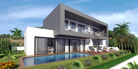 brand new designer villas built to order costa blanca spain villas with spectacular views for sale near mijas village