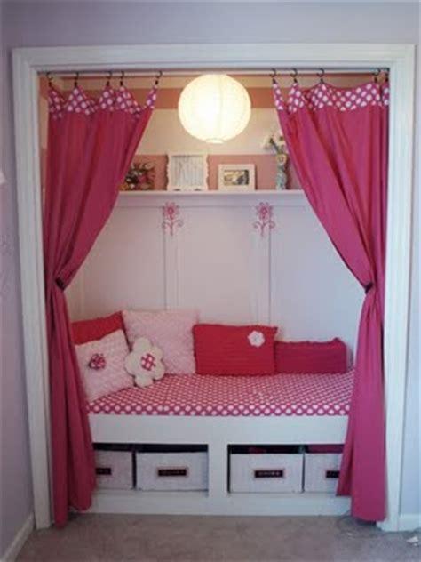 someday crafts closet reading nook