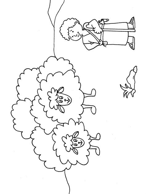 Coloring Page Goliath by David Y Goliath Coloring Home
