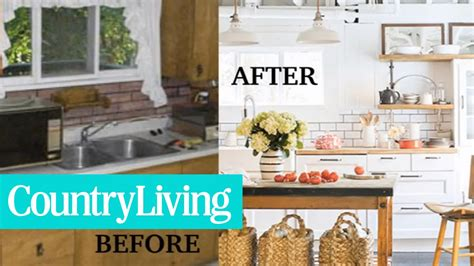 before and after home makeovers 7 wow worthy before and after home makeovers country