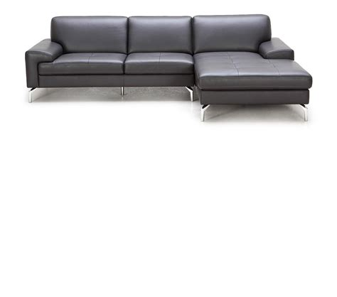 modern chaise sofa dreamfurniture com tansy modern brown sectional sofa