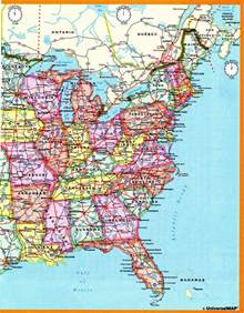 us time zones road map time zone us