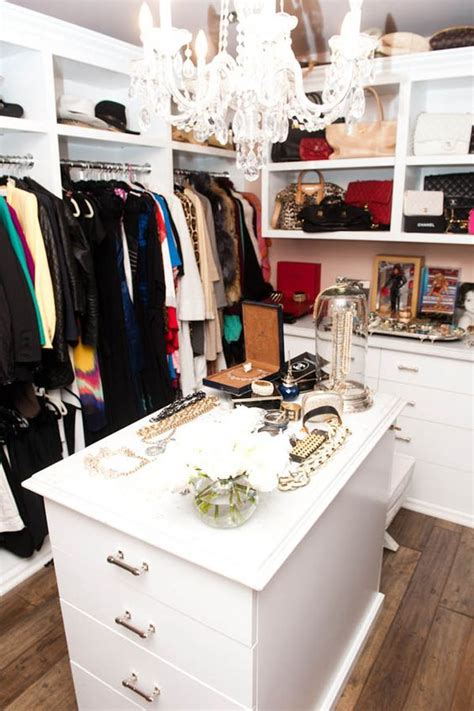 Kyle Richards Closet Home Decor Pinterest The Dressing Room Chandeliers
