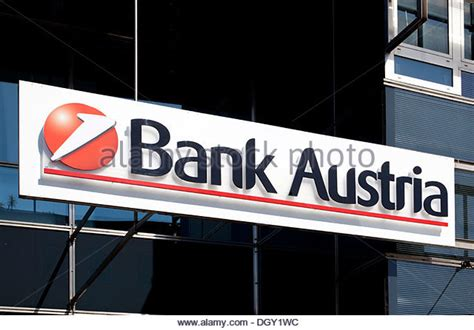 bank austrua unicredit bank austria stock photos unicredit bank
