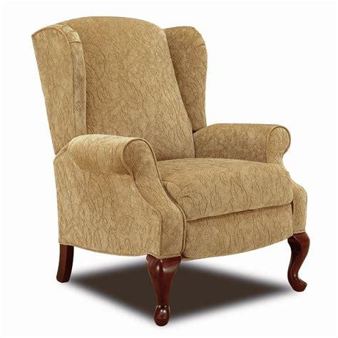 lane wingback recliner chair lane hi leg recliners traditional heathgate hileg recliner