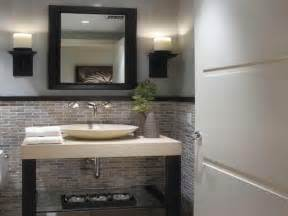 relaxing shades in modern half bathroom bathroom blog 17 best ideas about powder room design on pinterest
