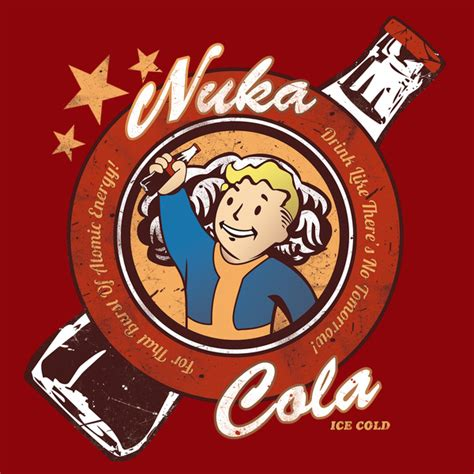 T Shirt Nuka Cola drink nuka cola the cool t shirt