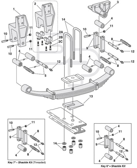 semi truck suspension diagram s2200 s2600 heavy duty anythingtruck truck trailer