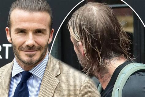 brooklyn hairline david beckham shows off bald patch in new york ok