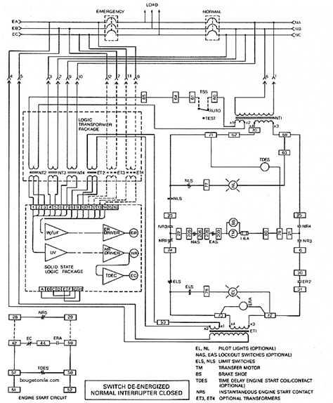 luxury automatic transfer switch wiring diagram free