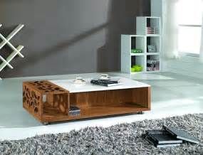 Table Living Room Design Modern Design Marble Top Living Room Coffee Table Set Center Table