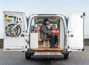 Electric Work Vehicles Uk Nissan Env200 Workspace World S Electric Mobile Office