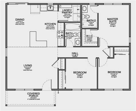 compact floor plans small 3 bedrooms house plans on simple 3 bedroom house