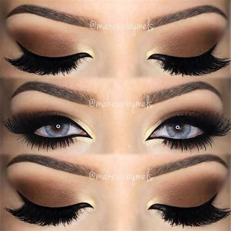 Eyeliner Gold Black High Quality beautiful black brown eye eye makeup eye