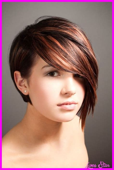 uneven bob for thick hair short asymmetrical haircuts for thick hair livesstar com