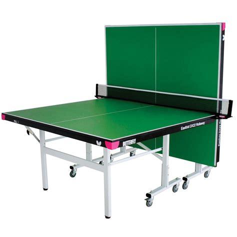 butterfly outdoor rollaway table tennis butterfly easifold dx22 indoor rollaway table tennis table