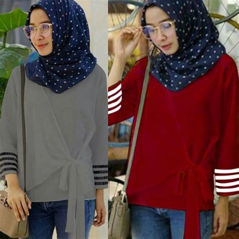 Pakaian Wanita Murah Top Murah grosir pakaian wanita almia top grosir baju muslim
