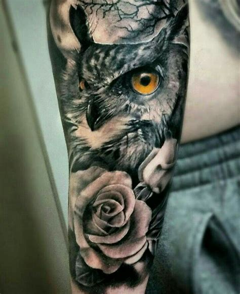 owl arm tattoo top 25 best owl tattoos ideas on owl