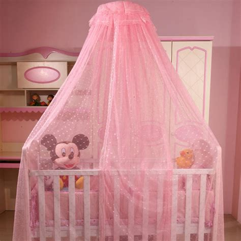 Cot Bed Canopy Jincao Baby Infant White Mosquito Net Canopy 4 Nursery Dome Crib Bed Cot Canopy Jpg