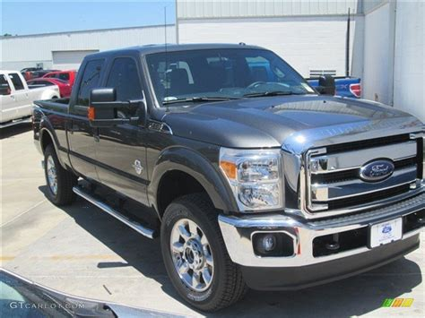 magnetic color 2015 magnetic ford f250 duty lariat crew cab 4x4