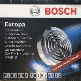 Bosch Europa Klakson klaxon harga klakson mobil motor terbaru update juli