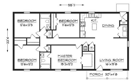 simple house floor plans with measurements floor ideas simple house plans with measurements drawing