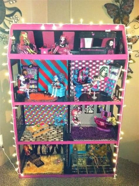 monster high doll house ideas 25 unique monster high house ideas on pinterest monster high dollhouse monster