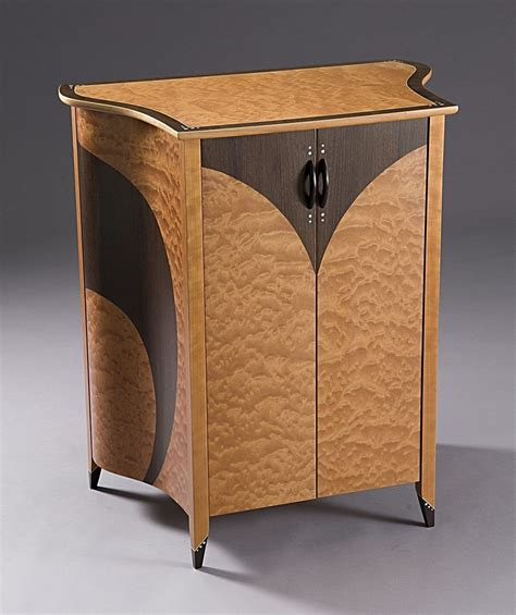 deco liquor cabinet handmade deco liquor cabinet by lost woodworks