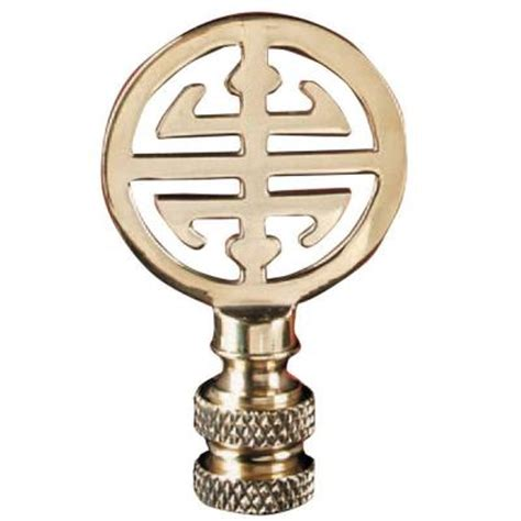 mario industries asian design brass l finial b4 the