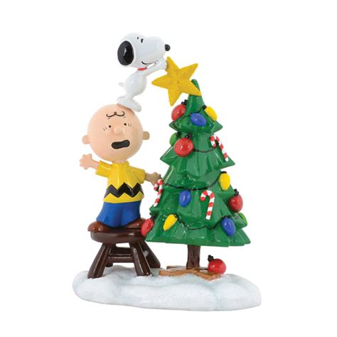 your wdw store dept 56 figurine peanuts christmas