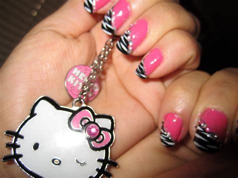easy nail art pink and black pink nail designs pccala