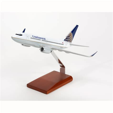 commercial model planes b737 700 continental model aircraft 1 100 scale commercial
