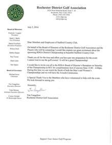 rdga invitation to scc membership stafford country club
