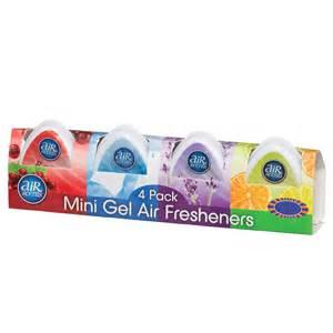 Air Freshener Mini Gel Air Scents Mini Gel Air Fresheners 4pk Air Fresheners