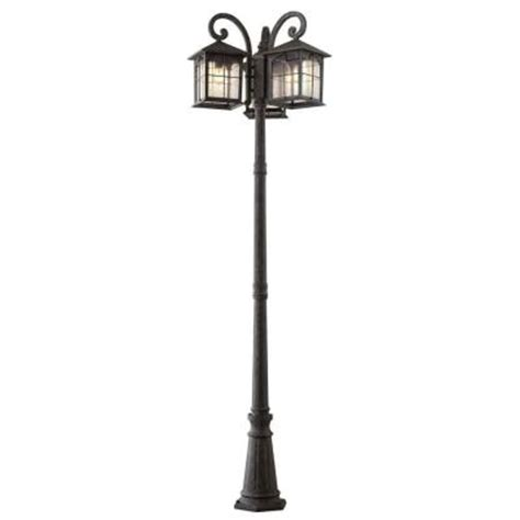 home depot outdoor post lighting home decorators collection outdoor lighting brimfield 3