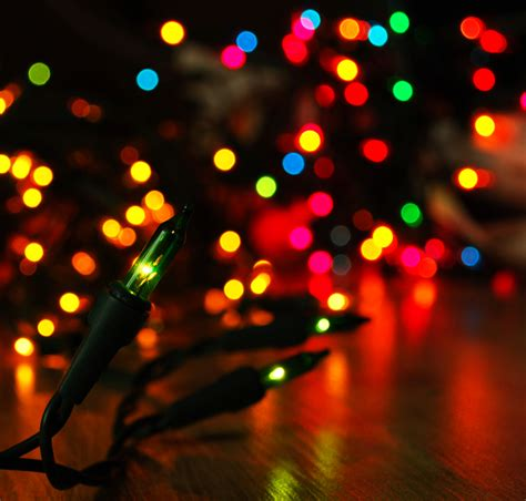 download the colorful christmas lights wallpaper colorful