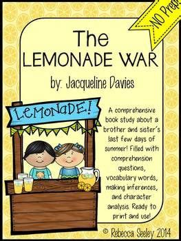 the lemonade war book report 86 best images about the lemonade war on