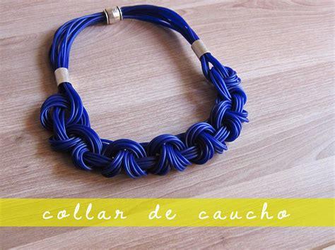 nudos de collares collar de nudos con cord 243 n de caucho joyas macram 201
