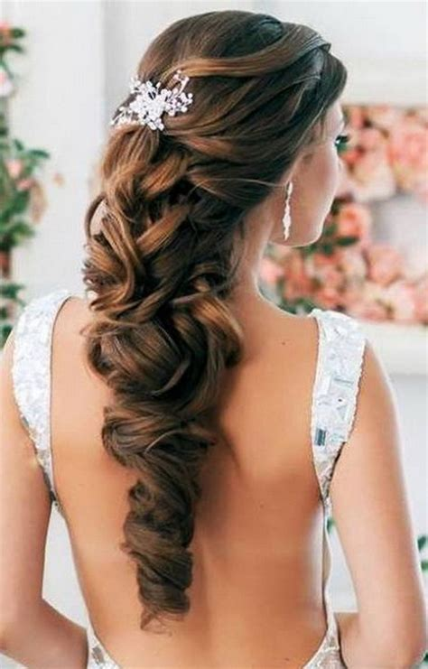 bridal hairstyles image gallery loose bridal hairstyles