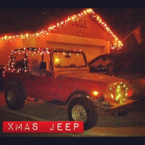christmas jeep merry christmas jeep