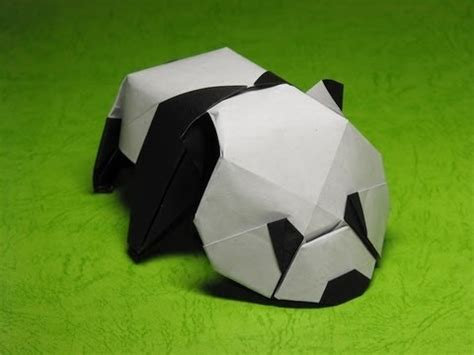 How To Make An Origami Panda - origami baby panda by jacky chan