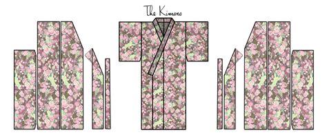 kimono pattern layout zero waste kimono pattern
